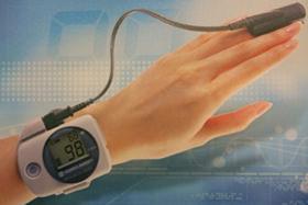 酸素飽和度の測定器